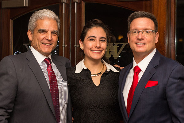 Mark Stagg, Jay Martino and Cristanir Arroyo