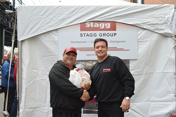 Mark Stagg turkey drive
