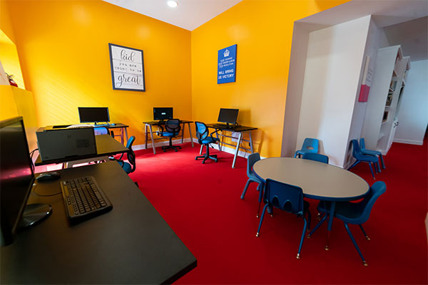 Stagg Family Center computer room