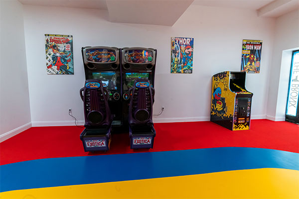Stagg Family Center video game room
